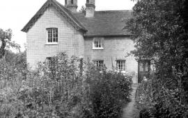 Rear of Bury Lodge